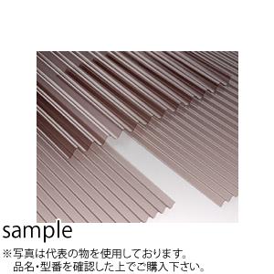 無印ポリカ波板 6尺ブロンズ 32波/0.7mm [10枚入り] :SP4166[送料別途お見積り]