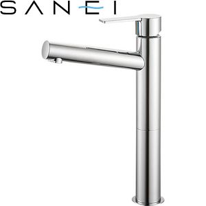 三栄水栓(SAN-EI) K4750NK-2T-13 シングルワンホール洗面混合栓|洗面所用 寒冷地用 節水水栓