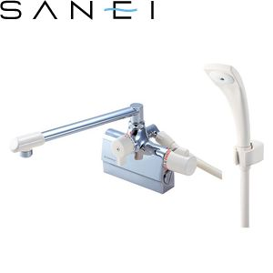 三栄水栓(SAN-EI) SK78D-13 サーモデッキシャワー混合栓|バスルーム用 E-MIX 節水水栓