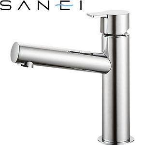 三栄水栓(SAN-EI) Y50750H-13 立水栓|洗面所用 COLUMN 節水水栓