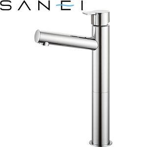 三栄水栓(SAN-EI) Y50750H-2T-13 立水栓|洗面所用 COLUMN 節水水栓
