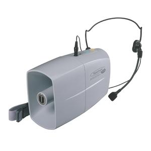 緑十字 ウエストホン メガホン-3WH 出力4W 乾電池別(単三型4個)
