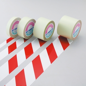 緑十字 ガードテープ GT-751WR カラー:白赤サイズ:75mm幅x100m