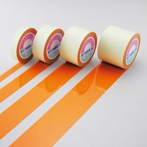 緑十字 ガードテープ GT-101YR カラー:オレンジ サイズ:100mm幅x100m