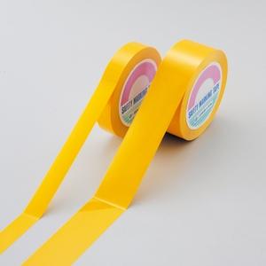 緑十字 ガードテープ(再はく離タイプ) GTH-501Y カラー:黄サイズ:50mm幅x100m