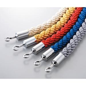 緑十字 ガイドスタンド用(ロープ) BA30-YS カラー:イエロー