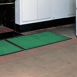 緑十字 吸油マット F99-7(グリーン)ゴムマットベース別売