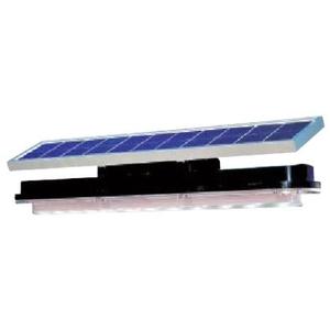 緑十字 ソーラー式LED照明(屋外用) WA45S-004AS 一体型 照明/スポット