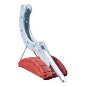 緑十字 サイクルステージ ハイタイプ ALP-H-R サイズ:W1100xH920xD400mmカラー:赤