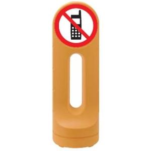 激安価格の 緑十字 スタンドサイン RSS125-15 マーク 携帯禁止 カラー:イエロー サイズ:H1250xW425xD425mm:セミプロDIY店ファースト-DIY・工具