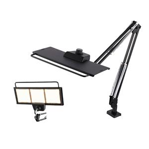 カネカ OLEDデスクライト LEX-3130BK 白色 (専用クランプ付き)