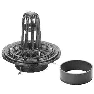 カネソウ ルーフドレイン ESP-2-150 ねじ込み式 屋上用 150×280 :ESP-2-150