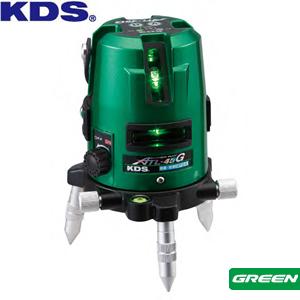 2方向たちライン/水平ライン/地墨点/鉛直 ムラテックKDS 高輝度グリーンレーザー墨出器 ATL-45G 本体のみ