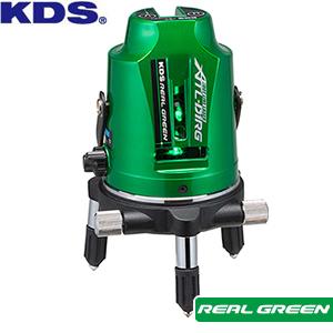 たちライン/水平ライン/地墨点/鉛直/ドット(たちライン・水平ライン) ムラテックKDS ドットライン リアルグリーンレーザー墨出器 ATL-D1RG 本体のみ