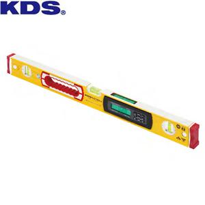 ムラテックKDS 高精度 防塵・防滴デジタル水平器 DL-60IP 本体サイズ:610×60×30mm