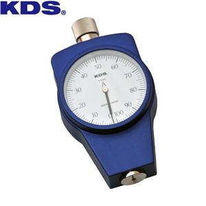 ムラテックKDS ゴム硬度計タイプA 標準型 DM-104A 押針形状:35°円錐台形