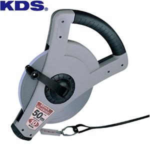 ムラテックKDS 鋼製巻尺(4倍速) ステンレススピードテクロン10巾 50m SST10-50 テープ巾/厚み:10mm/0.4mm