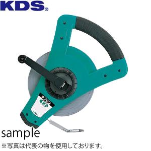 ムラテックKDS 鋼製巻尺(等倍) 強靭テクロン13巾 50m TL13-50N テープ巾/厚み:13mm/0.45mm