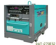 デンヨー 超低騒音型エンジンTIG溶接機 DAT-270ES2