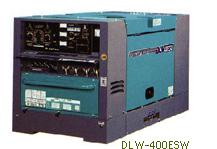 デンヨー 超低騒音型ディーゼルエンジン溶接機 DLW-400ESW