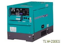 デンヨー 超低騒音型ディーゼルエンジン溶接機 TLW-230ES
