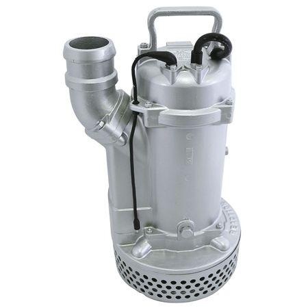 エバラ 工事排水用電極式オートポンプ 80EUX63.7 3吋三相200V×3.7kw電極式自形 60Hz