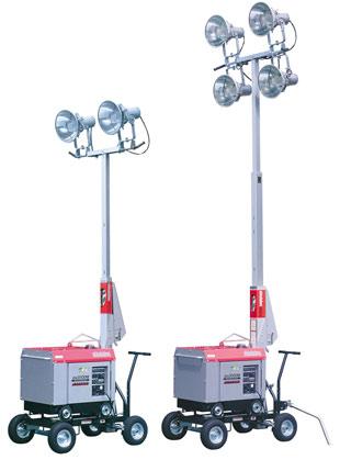 やまびこ(新ダイワ) プロジェクター投光機 SL223IDG-B 60HZ 2灯式 ディーゼル [送料別途お見積り]