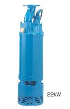 鶴見製作所(ツルミポンプ) 一般工事排水用水中ポンプ ディープウェル用 LH411