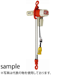 キトー(KITO) 電気チェーンブロック セレクト単相100V 揚程3M ED10S-3 定格荷重(kg):100 [個人宅配送不可]