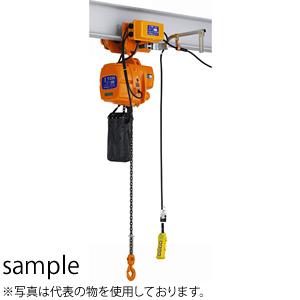 キトー(KITO) 電気チェーンブロック ファルコンEFL1速形・2速形 電気トロリ結合式巻上下2速・横行1速形 EFLM002SD-S 定格荷重(kg):150 [個人宅配送不可]