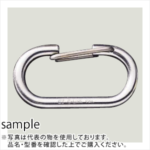 伊藤製作所(123) ステンレスCリンク 8mm HJ-8S (20個入)