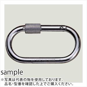 伊藤製作所(123) カラビナ ステンレス製 O型環つき 56x109mm KA10K-S (10個入/SUS304FLバレル研磨)