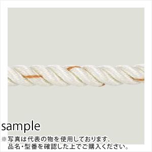 稲葉ロープ ナイロンロープ3つ打ち 直径12mm×200m 巻重量:17.7kg [代引不可商品]