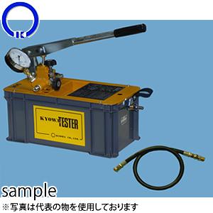 キョーワ(KYOWA) テスター 手動テストポンプ T-300N 40Mpa圧力計付