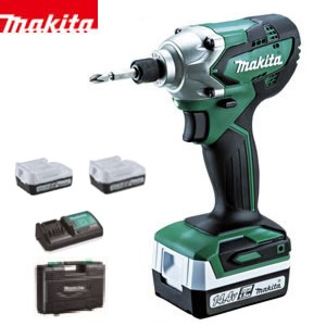 マキタ 14.4V 充電インパクトドライバー MTD001DSX (電池計2個・充電器・ケース付)【在庫有り】