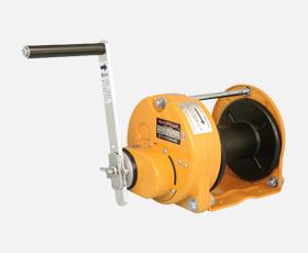 マックスプル 手動ウインチ SIC型 ブレーキ機構が防塵・防滴式ウインチ GM-5-SIC