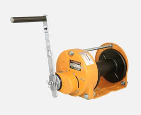マックスプル 手動ウインチ SIC型 ブレーキ機構が防塵・防滴式ウインチ GM-10-SIC