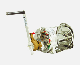 マックスプル 手動ウインチ RSB型 ラチェット式バフ研磨加工 RSB-10