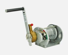 マックスプル 手動ウインチ ラチェット式(防塵・防適メタリック塗装RST-1-SIC