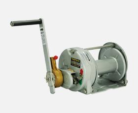 買取り実績  手動ウインチ マックスプル ラチェット式メタリック塗装RST-10-SI:セミプロDIY店ファースト-DIY・工具
