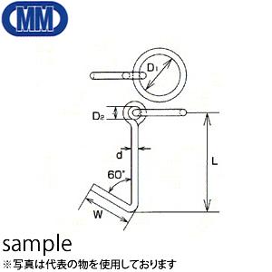 水本機械 ステンレス 係船環 MG型 品番:MG-22 1個価格 (SUS304)