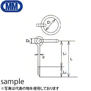水本機械 ステンレス 係船環 MIS型 品番:MIS-32 1個価格 (SUS304)