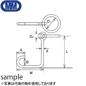 水本機械 ステンレス 係船環 ML型 品番:ML-19 1個価格 (SUS304)
