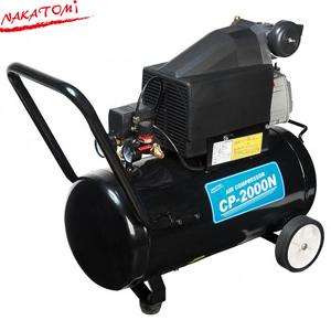 ナカトミ CP-1500T エアーコンプレッサー 930W/850W 103/125Lmin(50/60Hz) [個人宅配送不可]