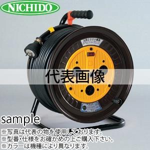日動工業 20mコードリール 三相200V標準型ドラム(屋内用) ND-320CT-15A アース無 コンセント:3口