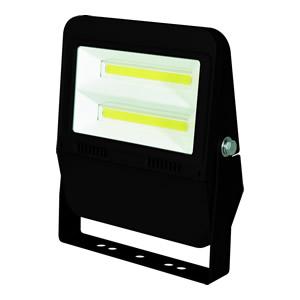 日動工業 LEDフラットライト 50Wタイプ LJS-F50D-BK-25K ボディーカラー:黒 100V 電球色