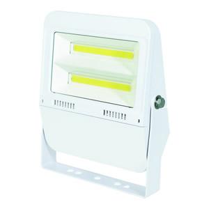 日動工業 LEDフラットライト 50Wタイプ LJS-F50D-W-25K ボディーカラー:白 100V 電球色