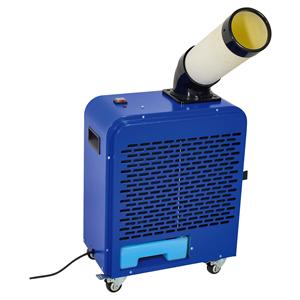 【7月上旬発送予定】日動工業 ポータブルタイプ スポットクーラー SPC-18AC (AC100V・50Hz/60Hz兼用) [個人宅配送不可]
