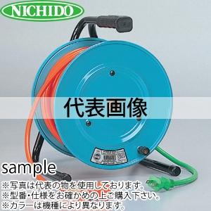 日動工業 50mコードリール 100V延長コード型ドラム(屋内型) RND-50S アース無 コンセント:3+2口