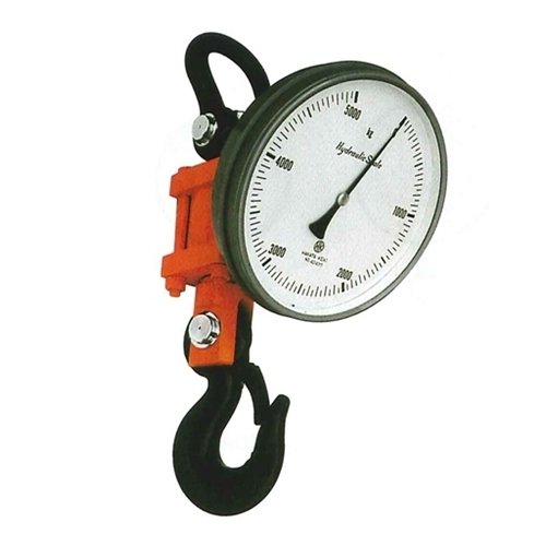高品質の人気 HS-01 油圧吊り秤/ハイドロスケール 博多計器 1T:セミプロDIY店ファースト-DIY・工具